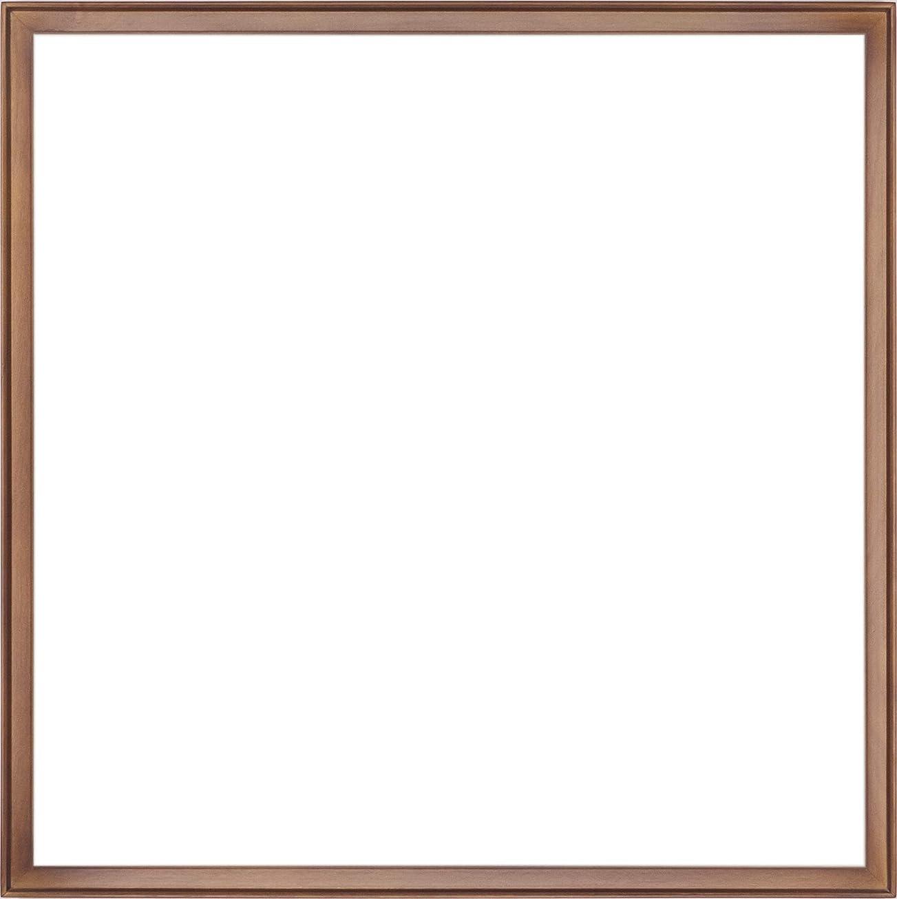 隔離敗北暫定の正方形額縁 P型 アクリル仕様 (ブラウン, 50角(500×500mm))