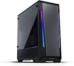 Phanteks Eclipse P360X Compact E-ATX Mid-Tower case, Tempered Glass, Digital-RGB Lighting, Black