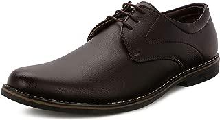 Escaro Everyday Wear Men's Formal Derby Lace Up Dress Shoes