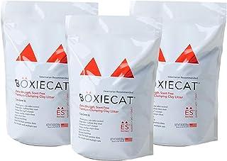BOXIECAT ボクシーキャット オレンジ 7.2kg 3個セット 猫砂 固まる ベントナイト 臭わない 無香料 無着色 強力消臭 砂埃が立ちにくい 獣医師推薦