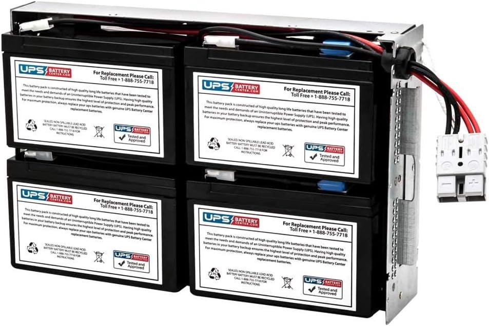 APC Smart UPS 1000 Rack Mount 2U SUA1000RM2U Compatible Replacement Battery Pack by UPSBatteryCenter