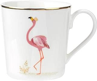 Sara Miller London for Portmeirion Piccadilly 12 oz Mug - Flamboyant Flamingo
