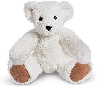 Vermont Teddy Bear Stuffed Bear - White Teddy Bear, 15 Inch, White
