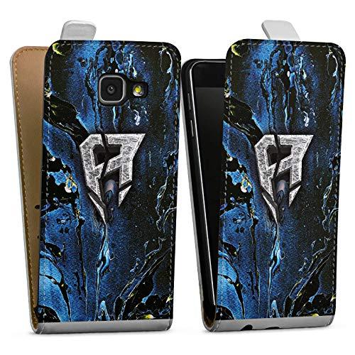 DeinDesign Tasche kompatibel mit Samsung Galaxy A3 (2016) Flip Case Hülle ApoRed Merchandise Logo