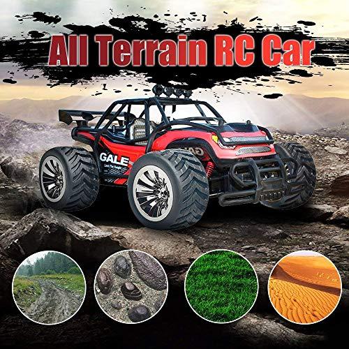 RC Truggy kaufen Truggy Bild 1: VATOS Ferngesteuertes Auto, Maßstab 1:16, 2,4 Ghz, Rennwagen, Rennrad-Crawler, Schwarz*