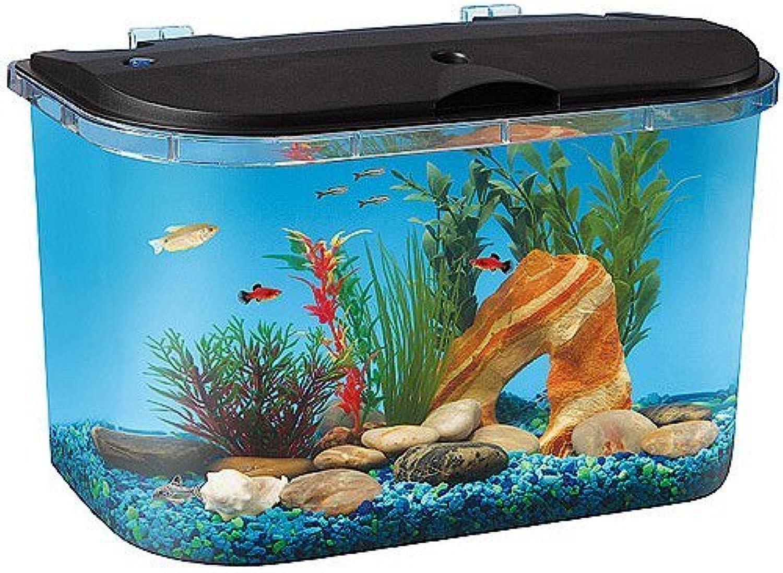 venta mundialmente famosa en línea Hawkeye 5 Gallon Estrellater Aquarium Aquarium Aquarium Kit with LED Li by HawkEye  calidad fantástica