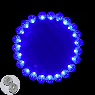 Neo LOONS 100pcs/lot 100 X Blue Round Led Flash Ball Lamp Balloon Light Long Standby time for Paper Lantern Balloon Light ...