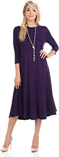 modest midi dresses uk