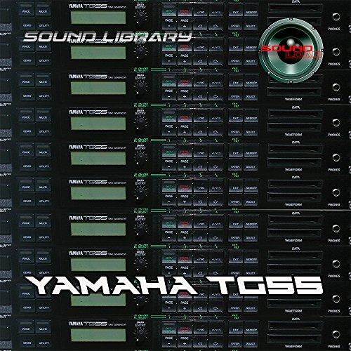 YAMAHA TG55 - Editores de biblioteca de sonido (tamaño grande, original, para descargar)