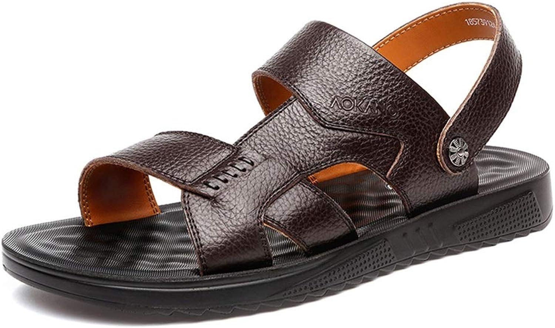 ec6f8d94733f9 Sports & Outdoor Sandals Sandals Summer Men's Business Sandals Home ...