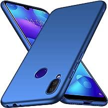 ORNARTO Funda Redmi Note7, Carcasa [Ultra-Delgado] [Ligera] Mate Anti-arañazos y Antideslizante Protectora Sedoso Caso para Redmi Note 7(2019) 6,3 Pulgadas Azul