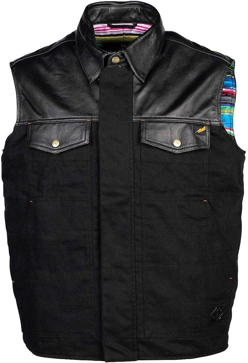 Cortech Bandito Leather Men's Street Motorcycle Vest