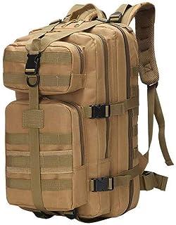 Ajing Mochila táctica militar multifunción, 35 l, mochila de asalto militar, mochila de viaje, mochila para camping, senderismo y senderismo