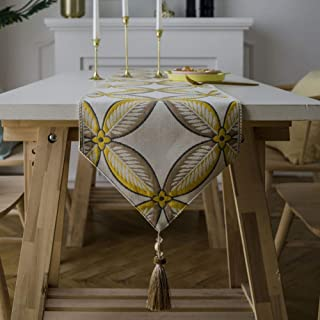 Chemin de Table Lin Chemin de Table Table décor Lavable Nappe Automne Chemin de Table Linge Chemin de Table Pièce maîtress...