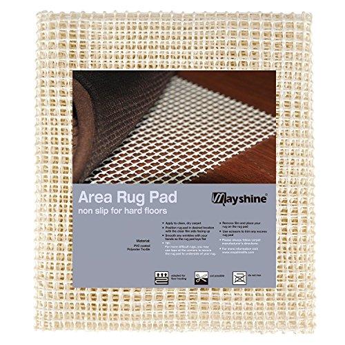 MAYSHINE 180x280 cm Non-Slip Area Rug Pad Mat Underlay Multipurpose for Hard Surface Floor