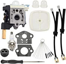 Hayskill SRM 210 Carburetor with Primer Bulb Fuel Line for Echo Weedeater SRM210 SRM211 GT200 GT201 PE200 PE201 SRM210U SRM211U SRM211SB HC150 HC151 Trimmer Parts