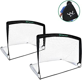 Youth Value Portable Soccer Goals, Instant Set-Up, Easy...