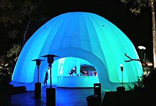 Inflatable Commercial Wedding Event Nightclub Bar Pool Patio Marquee Dome Tent (20ft.(D) x 16ft.(H))