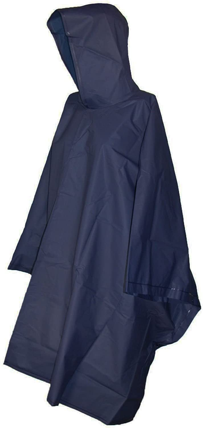 totes Unisex Rain Poncho, lightweight, reusable, and packable on the go rain protection