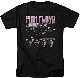 Popfunk Pink Floyd Live Retro T Shirt & Stickers