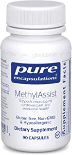 Pure Encapsulations - MethylAssist - Hypoallergenic Supplement with B Vitamins to Support Cardiovascular, Neural and Emotional Health - 90 Capsules