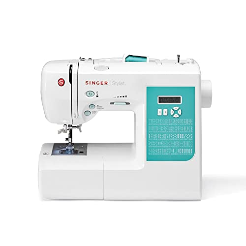 Singer | 7258 100-Stitch Computerized Sewing Machine with 76 Decorative Stitches, Automatic Needle