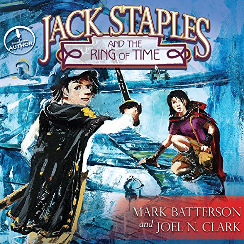 Jack Staples and the Ring of Time audiobook cover art