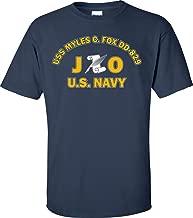 USS Myles C. Fox DD-829 Rate JO Journalist