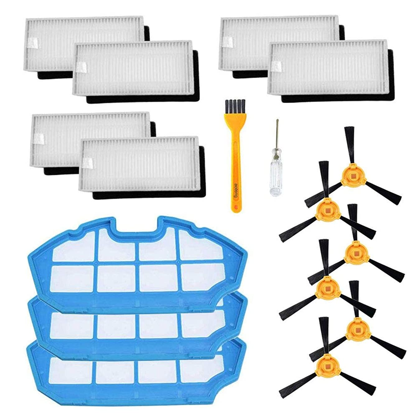 Replacement for Ecovacs Deebot N79 N79S Robot Vacuum Cleaner Accessory Kit (set 1)