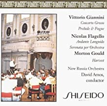 David Amos/ . . . Flagello/Giannini/Gould Symphonic Music