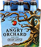 Angry Orchard Crisp Apple Hard Cider, 6 pk, 12 oz bottles, 5% ABV