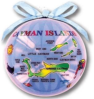 Rockin Gear Christmas Ornament Ball Decorative Assorted Tropical Islands Souvenir (Cayman Islands)