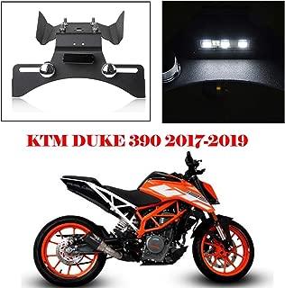 Duke390 Accessories Tail Fender Eliminator License Plate Holder Black with Led light For KTM Duke 390 390 Duke 2017 2018