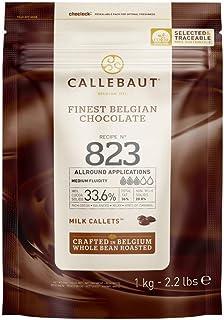Callebaut No 823 Finest Belgian Milk Chocolate Callets Couverture 33.6% - 1Kg