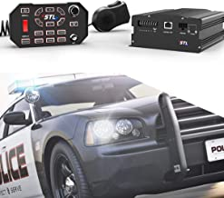 SpeedTech Lights Apex 100-Watt Police Siren and Emergency Vehicle Siren System with Horn and PA Microphone
