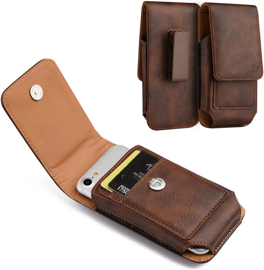 Belt Clip Phone Pouch for Samsung Galaxy S21 Plus 5G, S21 5G, M21s, M31 Prime, F41, S20 FE, S20 FE 5G, Note 20, Note 20 5G, A51 5G UW, A01 Core