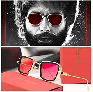 RoshFort Kabeer singh Sunglasses (Gift item) Stylish New Lens Design Mirror Goggles Sunglasses unisex