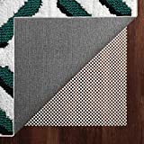 Yome Rug Pad 5 x 7 Ft Non-Slip Extra Thick Gripper for Any Hard Surface Floors, 5' X 7', White