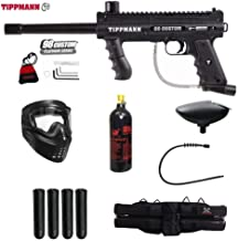 MAddog Tippmann 98 Custom Platinum Series Silver Paintball Gun Package