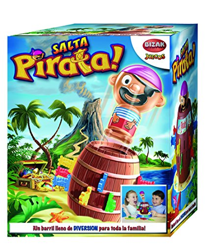 Tricky juegos 7028 Pop up Pirate, Bunt