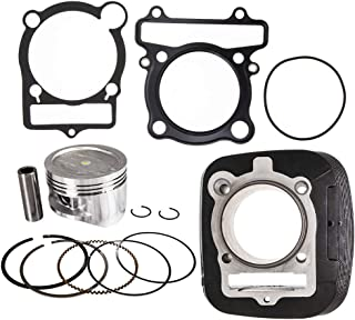 NICHE Cylinder Piston Gasket Kit For Yamaha Big Bear Kodiak 400 1993-2012 4GB-11310-00-00 5FU-11310-01-00 83mm Bore