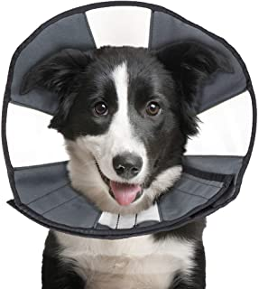 ZenPet ProCone Pet E-Collar for Dogs and Cats - Comfortable Soft Recovery Collar is Adjustable for a Secure and Custom Fit...