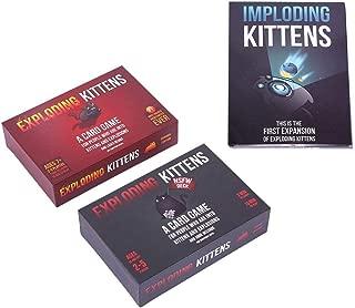 Joyleah Popular Desktop Game Play Cards Imploding Kittens Exploding Kittens Card Game