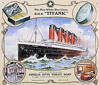 1/2 Sheet - The Titanic Birthday - Edible Cake/Cupcake Party Topper - D21938
