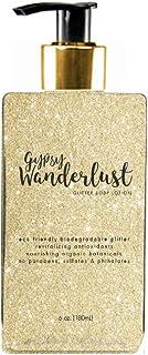 Sunshine & Glitter   Gypsy Wanderlust GOLD GLITTER BODY GEL   Natural Antioxidants & Nutrients   Biodegradable Glitter   V...