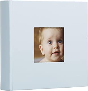 Pearhead Baby Photo Album, Light Blue