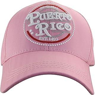 MINAKOLIFE Men Women Puerto Rico Classic Polo Style Baseball Cap Hat Unconstructed Dad
