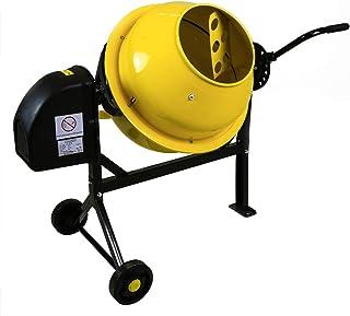Charles Bentley - Hormigonera portátil con ruedas - 63 L -