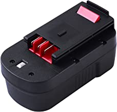HPB18-OPE Ni-Mh Replace for Black and Decker 18V Battery 3.0Ah HPB18 FS18FL FSB18 A1718 FEB180S A18 A18E 244760-00 A18NH FS18FL FS180BX FS18BX Firestorm Power Tools