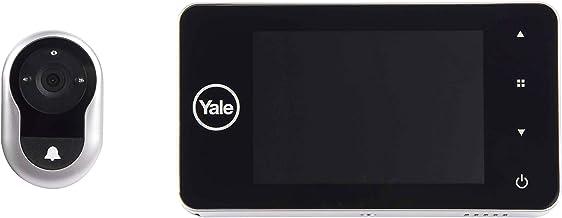 Yale DDV 500 digitale deurspion-deur, zilver, DDV 4500